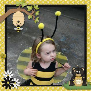 Queen Bee Up Close