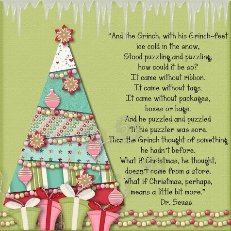 A Christmas Tree for Dr Seuss