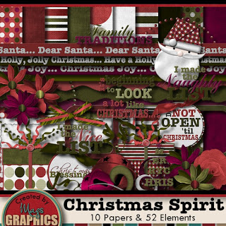 MagsGraphics Christmas Spirit kit