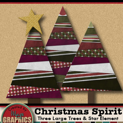 MagsGraphics Christmas Spirit freebie
