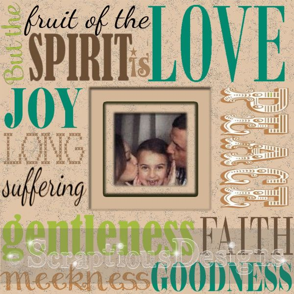 Fruit of the Spirit sample
