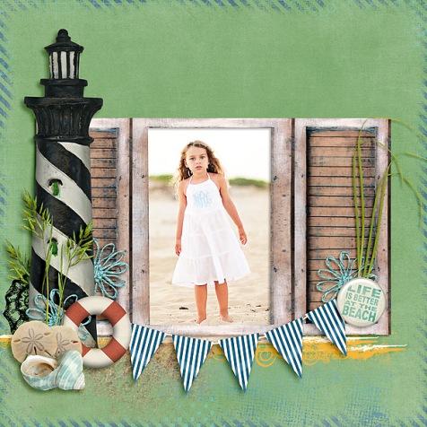 Kit: Summer DestinationArtsy Fartsy EdgesDesigner: Kimeric Kreations