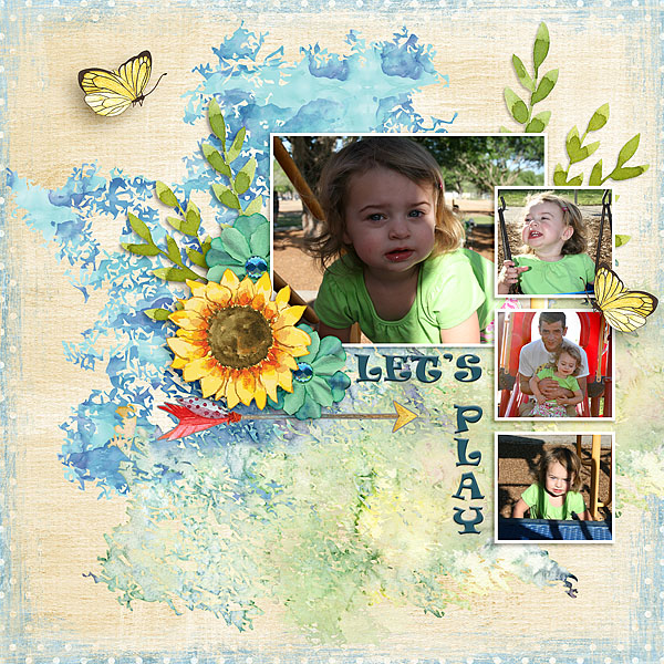 Kit: A Day in the Park Designer: Alexis Design Studio Font: Ravie