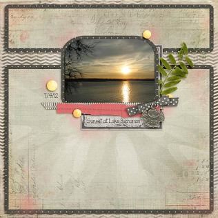 Sunset At Lake Buchanan