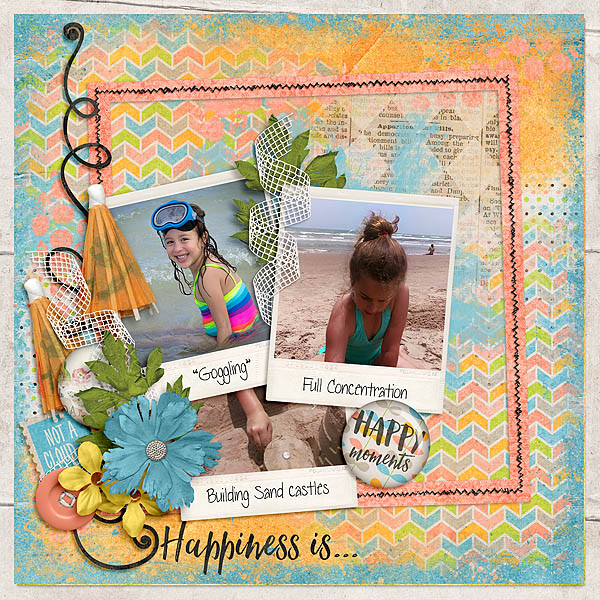 Kit: Today I Feel Happy Designer: Created by Jill