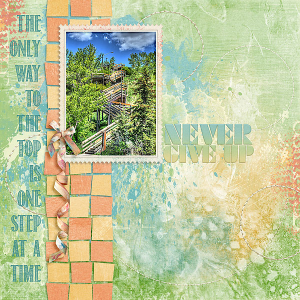 Kit: One Step At A Time Designer: Kimeric Kreations Font: Return To Sender Regular