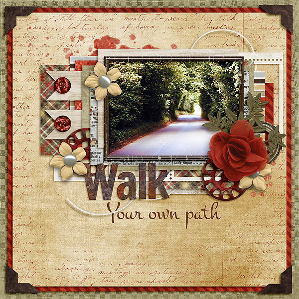 Kit: Walk With MeDesigner: Created by Jill