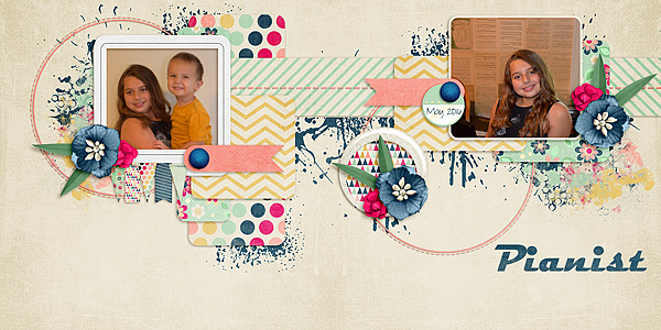 Kit: Good Day Mini Designer: Sas Designs Template: Double Page Vol 2 Designer: Christaly