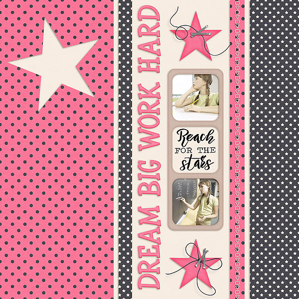 Kit: Dream On Dreamers Designer: Blue Heart Scraps