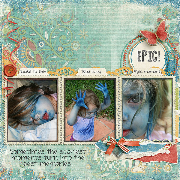 Kit: Creative Edge: Artsy Fartsy Edges Designer: Kimeric Kreations Font: DJB Sandra Dee Regular