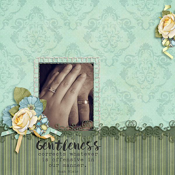 Kit: The Faith Project-Gentleness Designer: Sherwood Studio