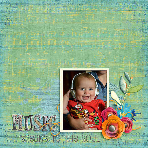 Kit: Listen to the Music The DigiChick Designers Collaboration