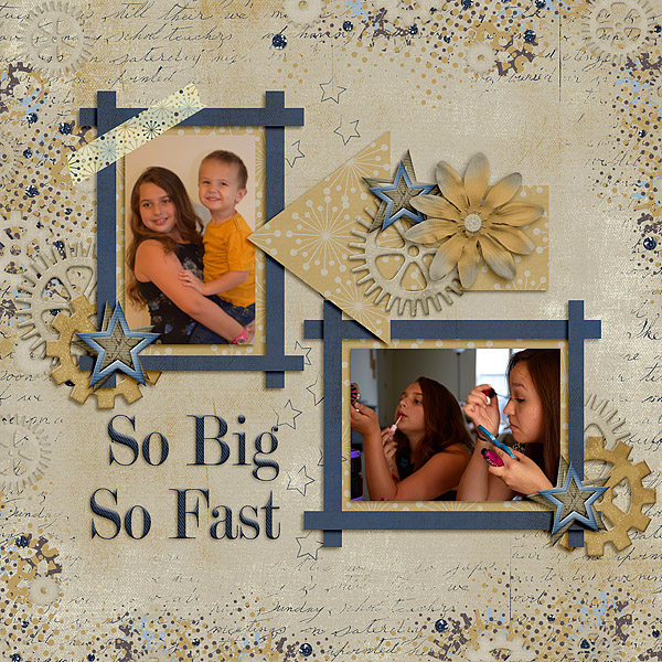 Kit: Denim & Dirt Designer: Lindsay Jane Template: June 2016 Blog Challenge freebie Designer: Scrapping with Liz