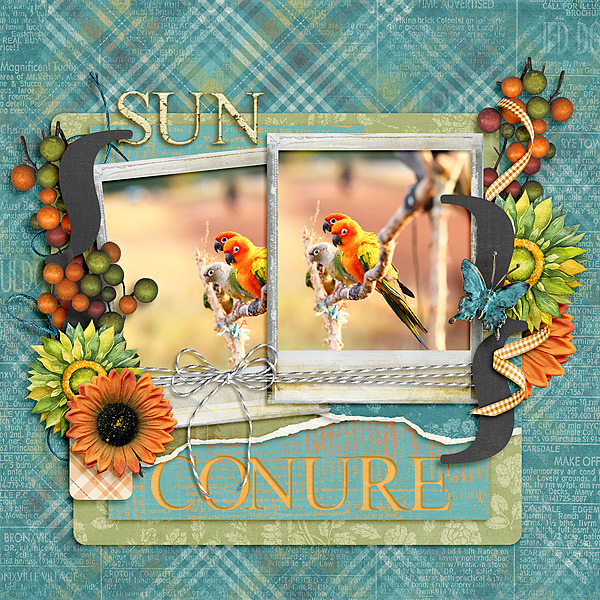 Kit: Fall Fest Designer: Kimeric Kreations Template: Layered Up Template #2 Designer: Kimeric Kreations